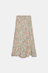 Spódnica Zara Floral Print Skirt
