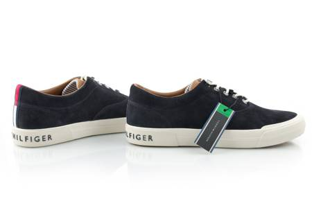 Buty TOMMY HILFIGER HERITAGE SUEDE SNEAKER