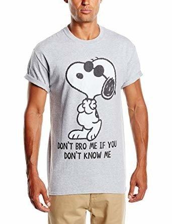 Koszulka PEANUTS DON'T BRO ME